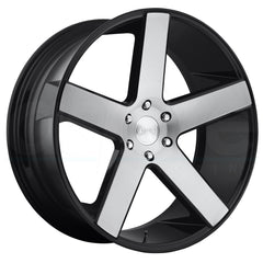 Dub Wheels S217 Baller Black Machined