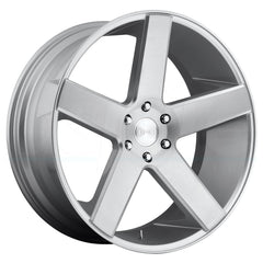 DUB Wheels Baller S218 Silver Machined
