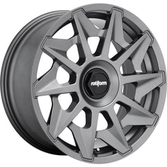 Rotiform Wheels R128 Cvt Gray