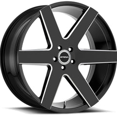 Strada Wheels S60 Coda Black Milled
