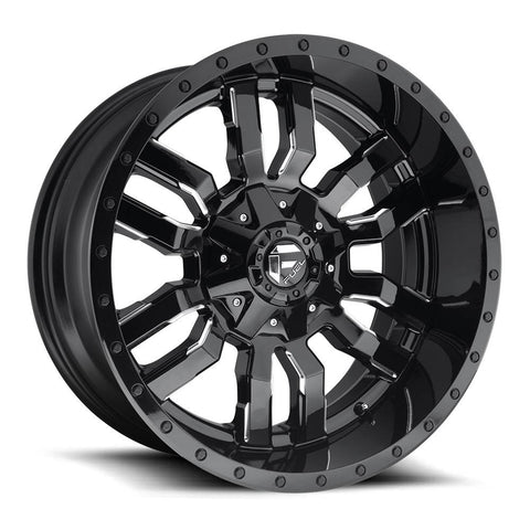 Fuel Wheels Sledge D595 Black Milled
