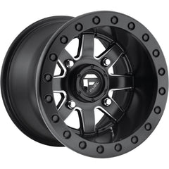 Fuel Wheels Maverick ATV UTV D928 Black Milled