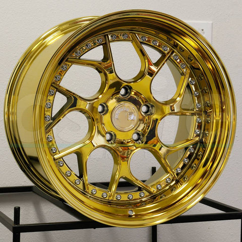 Aodhan Wheels DS01 Gold Vacuum