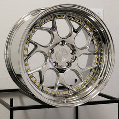 Aodhan Wheels DS01 Vacuum Platinum