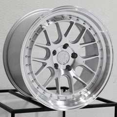 Aodhan Wheels DS06 Silver Machined