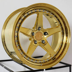 Aodhan Wheels DS05 Gold Vacuum