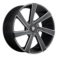 Dub Wheels S133 Directa Black Milled