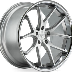 Ferrada Wheels FR2 Machine Silver Chrome Lip