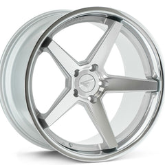 Ferrada Wheels FR3 Machine Silver Chrome Lip