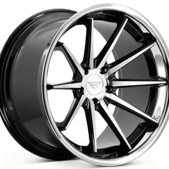 Ferrada Wheels FR4 Machine Black Chrome Lip