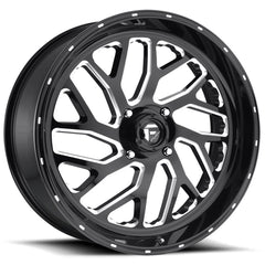 Fuel Wheels D581 ATV UTV Triton Black Milled