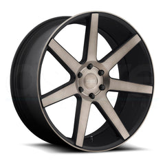 DUB Wheels Future S127 Black Machined