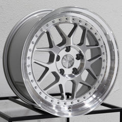 MRR Wheels GF19 Silver Machined