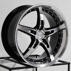 MRR Wheels GT5 Black