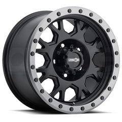 Vision Wheels GV8 Invader Black Anthracite Lip