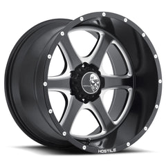 Hostile Wheels H105 Exile Black Milled