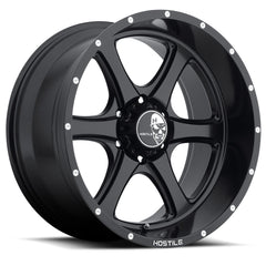 Hostile Wheels H105 Exile Full Black