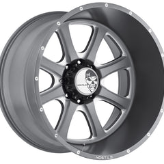 Hostile Wheels H105 Exile Gunmetal