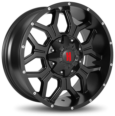Havok Wheels H106 Matte Black