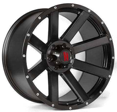 Havok Wheels H107 Matte Black
