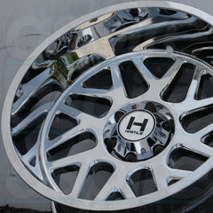 Hostile Wheels H108 Sprocket Chrome