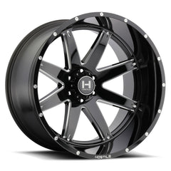 Hostile Wheels H109 Alpha Black Milled