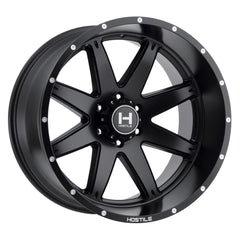 Hostile Wheels H109 Alpha Full Black