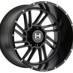 Hostile Wheels H110 Stryker Full Black