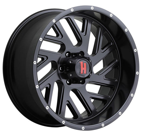 Havok Wheels H110 Matte Black