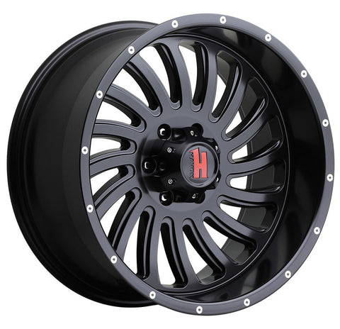 Havok Wheels H111 Matte Black