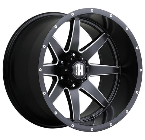 Havok Wheels H112 Black Milled