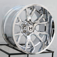 Hostile Wheels H113 Rage Chrome