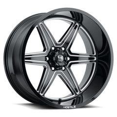 Hostile Wheels H117 Venom Black Milled