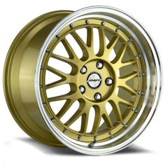 Shift Wheels H27 Flywheel Gold Polished Lip