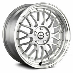 Shift Wheels H27 Flywheel Silver Polished Lip