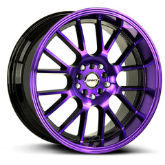 Shift Wheels H28 Crank Back Purple