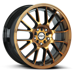 Shift Wheels H28 Crank Black Machine Bronze