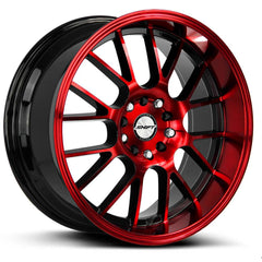 Shift Wheels H28 Crank Black Machine Red
