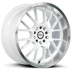 Shift Wheels H28 Crank White Polished Lip