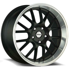 Shift Wheels H28 Crank Black Polished Lip