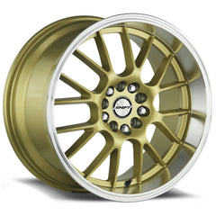 Shift Wheels H28 Crank Gold Polished Lip