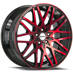 Shift Wheels H32 Formula Black Machine Red