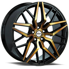 Shift Wheels H33 Spring Black Machine Bronze
