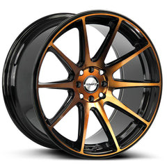 Shift Wheels H34 Gear Black Machine Bronze