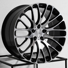MRR Wheels HR6 Black Machined