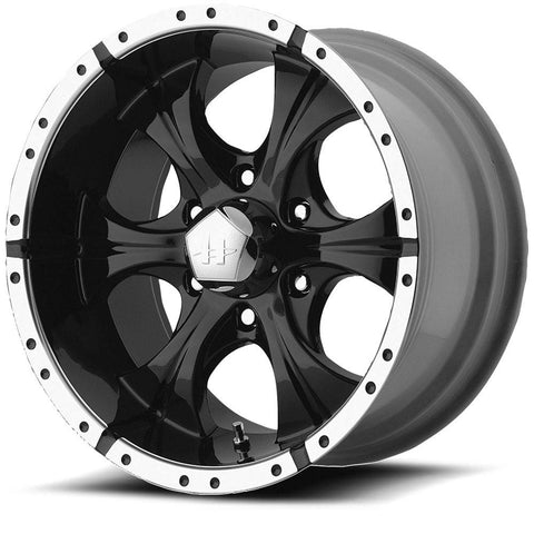 HELO Wheels HE791 Maxx 6H Gloss Black Machine