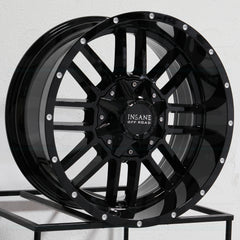 Insane Wheels IO-07 Gloss Black