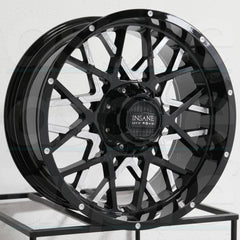 Insane Wheels IO-10 Gloss Black Milled