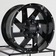 Insane Wheels IO-12 Gloss Black