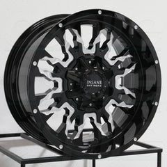 Insane Wheels IO-14 Gloss Black Milled